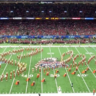 ICYMI, the UT Band Honored Selena During Sugar Bowl Half-time Show