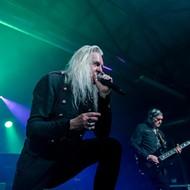 British Metal Legends Saxon Were Unstoppable at San Antonio's VIBES Event Center