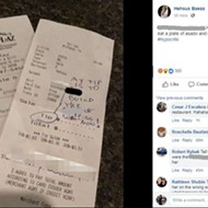 Customer Writes 'Build the F–king Wall' in Lieu of Tip at Mexican Restaurant in Texas