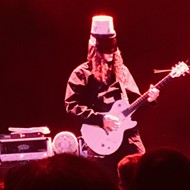 Buckethead Doesn't Let Schtick Outshine His Guitar Skills at San Antonio Performance