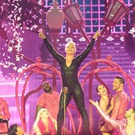With Death-Deyfing Stunts, Fire and Lights, P!nk Brought One Hell of a Show to the AT&T Center