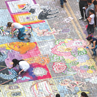 Artpace's Popular Chalk It Up Festival Returns for Another Year of Color
