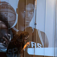 San Antonio Muralist Adding Baby Spur Lonnie Walker IV to South Side Mural
