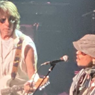 Johnny Depp Surprises San Antonio Crowd, Joins Guitarist Jeff Beck Onstage During Tobin Center Show