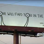 Daniel Johnston Billboard Tribute Appears Over I-35 in Austin