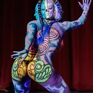 Sexy, Colorful Moments from the 2019 Texas Body Paint Competition
