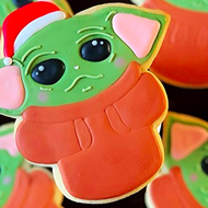 This San Antonio Bakery is Serving Baby Yoda Christmas Cookies That May Be Too Adorable to Eat
