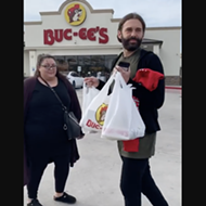 <i>Queer Eye</i> Star Jonathan Van Ness Hit Up Buc-ee's Ahead of His San Antonio Show on Sunday
