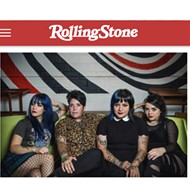San Antonio Riot Grrrl Punkers Fea Just Landed in Rolling Stone