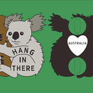 Austin Artist Duo Raising Money for Australian Wildfire Relief with Adorable Koala Pin