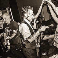 Punk Stalwarts Leftover Crack and Casualties Slamming into the Paper Tiger Next Month