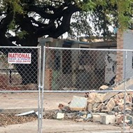 Bulldozers Raze Most of What Remained of San Antonio Punk Institution Taco Land