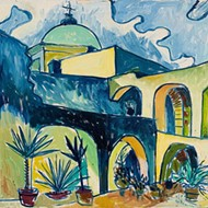 Artist Cruz Ortiz Opens Virtual Gallery of San Antonio Missions Oil Paintings