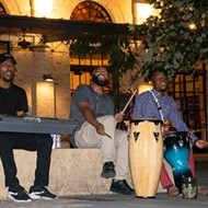 Trio Raps About 'Putting Unity Back Into the Community' During a Flash Pearl Park Performance