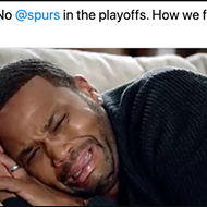 San Antonio Spurs Fans Mourn the End of the Team's 22-Season Playoff Streak