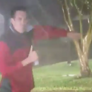 A Storm-Chasing San Antonio Weatherman Almost Got Fried by Lightning — on Video