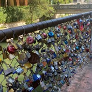 Downtown San Antonio's Popular 'Love Lock Bridge' to Be Temporarily Moved
