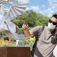 San Antonio Botanical Garden Debuts Origami-Themed Outdoor Sculpture Exhibition This Month