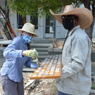 Sidewalk Storyteller: Artist Anne Wallace Still Cementing the History of Lavaca, San Antonio's Oldest Neighborhood