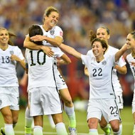 U.S. Women's Soccer Just Beat Top-Ranked Germany, Headed To World Cup Finals
