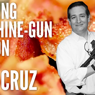 Watch Ted Cruz Cook Bacon With A Gun