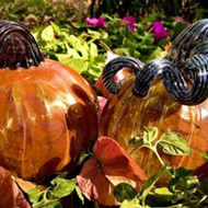 San Antonio glass-blowing studio hosting glass pumpkin patch this weekend