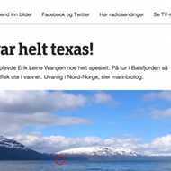 'Texas' is Slang for 'Crazy' in Norway