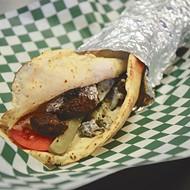 Wrap Battle: 4 Falafel Sandwiches, 3 Stuffed Writers