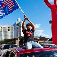 All the people we saw in San Antonio celebrating the Joe Biden-Kamala Harris win