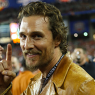 Movie star Matthew McConaughey says he'd consider running for Texas Governor