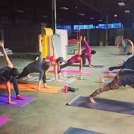 Mobile Om Kicks off 2016 with Yoga at Alamo Beer Co., Joseph E. Coffee Co.
