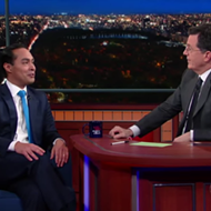 Watch Former San Antonio Mayor Julian Castro Get a Spanish Lesson, Deflect Veep Talk on <i>The Late Show</i>