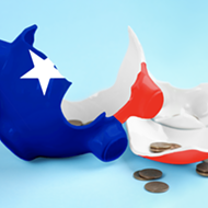 Breaking the Bank: With Texas in a budget crisis, the GOP-controlled Lege may not be in the mood to do anything but cut