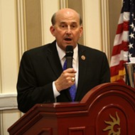 U.S. Rep. Louie Gohmert of Texas' tooth fell out on camera during a news conference
