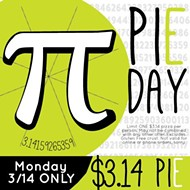 Celebrate Pi Day at Urban Bricks Pizza
