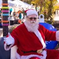 Free Holiday Drive-Thru at Hemisfair will feature snow, selfies with Santa