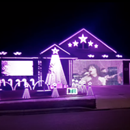 Selena fans can take a trip down nostalgia lane via a New Braunfels Christmas light show