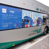 VIA Metropolitan Transit and Uber Teamed Up for Fiesta