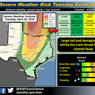Damaging Hail Could Strike San Antonio Tuesday