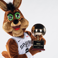 San Antonio Spurs Coyote once again named NBA Mascot of the Year