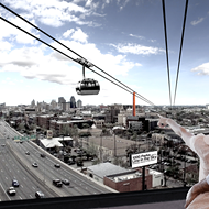 Can You Imagine Taking a Skyride from the Airport to the Pearl?