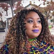Glitter Political: San Antonio Poet Laureate Andrea 'Vocab' Sanderson wields plus-size influence