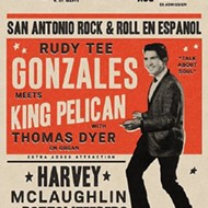 SA Rock 'n' Soul Pioneer Rudy Tee Gonzales Recruits King Pelican, Plays Squeezebox