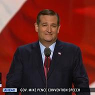 "Ted Cruz Finally Falls In Line, Endorses ""Pathological Liar"" For President"
