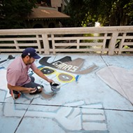 Chalk It Up this Weekend with Artpace