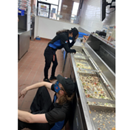 Photo of exhausted Domino's workers taken at peak of San Antonio winter storm goes viral