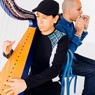 Harp meets harmonica in the next streaming concert from Musical Bridges Around the World