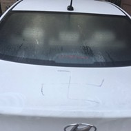 SA Man's Car Tagged With Swastika, Homophobic Slur in Less Than One Week