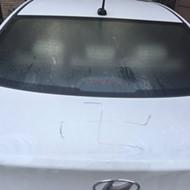 SA Man's Car Tagged With Swastika, Homophobic Slur in Less Than One Week