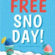 It's FREE Sno Day at Bahama Buck's